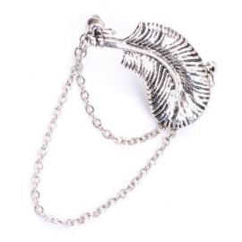 "Ear Cuff ""Lovely Feather"""