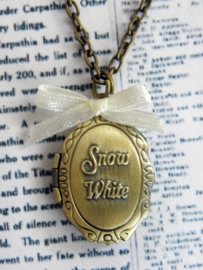 "Medaillon Ketting ""Snow White Locket"""