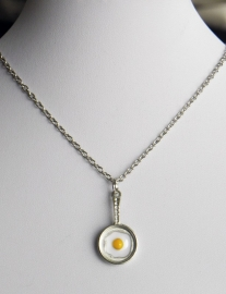 "Ketting ""Fried Egg"""