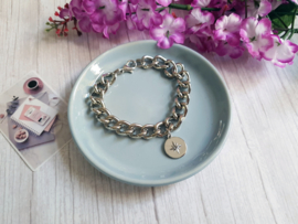 "Grove Armband ""Chunky Silver Bracelet"""