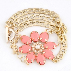 "Armband ""Coral Flower"""