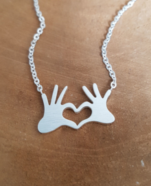 "Subtiele Ketting ""My Heart Is In Your Hands"""