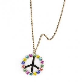 "Ketting ""Flower Peace"""