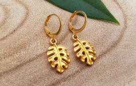 """Oorringen """"Gold Leaf"""""""