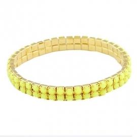 "Armband ""Elastic Yellow Stones"""