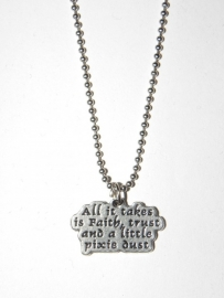"Tekst Ketting ""Pixie Dust"""