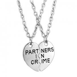 "Kettingen Set ""Partners In Crime"""