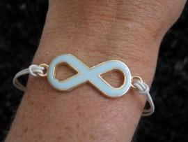 "Armband ""Pastel Infinity"""