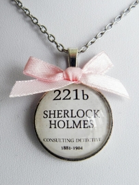 "Sherlock Holmes Ketting ""Baker Street 221b"""
