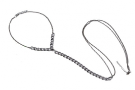 "Body Chain Ketting ""Harness"""