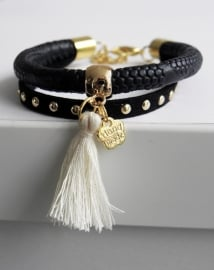 "Ibiza Armband ""Black Is The New Black"""