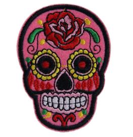 """Doodshoofd Patch """"Pink Skull"""""""