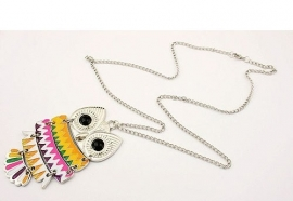 "Uil Ketting ""Aztec Owl"""