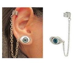 """Ear Cuff  """"Eye Love You"""""""