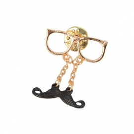 "Snor Broche ""A Nerd With A Mustache"""
