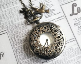 "Zakhorloge Ketting ""Victorian Beauty"" Large"