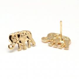 """Oorbellen """"Elephant"""""""