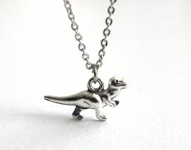 """Subtiele Ketting 'Tiny Dinosaur"""""""
