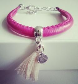 """Ibiza Armband """"Budget Pink"""""""