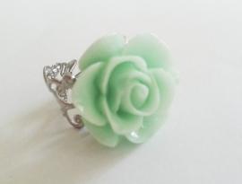 """Ring """"Mint Flower"""""""