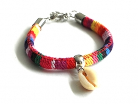 "Armband ""Colourful Shell"""