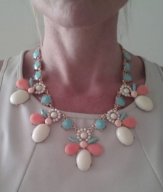 "Statement Ketting ""Pastel Madness"""