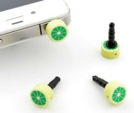 "Anti-Dust Plug ""Lime"""