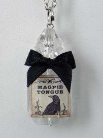 "Magic Bottle Ketting ""Magpie Tongue"""