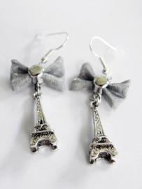 """Oorbellen """"Paris"""" met Eiffeltoren"""