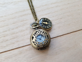 "Zakhorloge Ketting ""It's me, Alice"" Small - Alice in Wonderland"