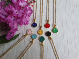 """Ketting """"Colourful Smile"""" Stainless Steel"""