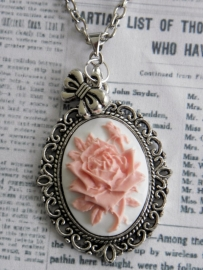 "Camee Ketting ""Pink Rose"""