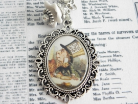 "Alice in Wonderland ketting ""Mad Hatter"""