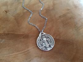 "Ketting ""Medium Silver Saint"" (hanger 22mm)"
