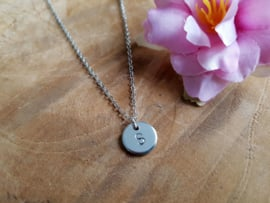 """Letter Ketting """"Initial"""""""