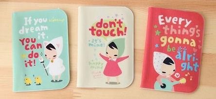 "Card Holder ""Cute Cartoon"""