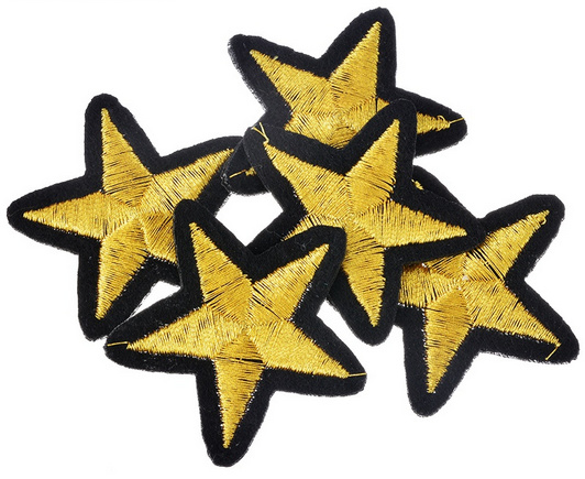 "Ster Patch ""Gold Star"""