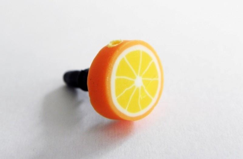 """Anti-Dust Plug """"Orange"""""""