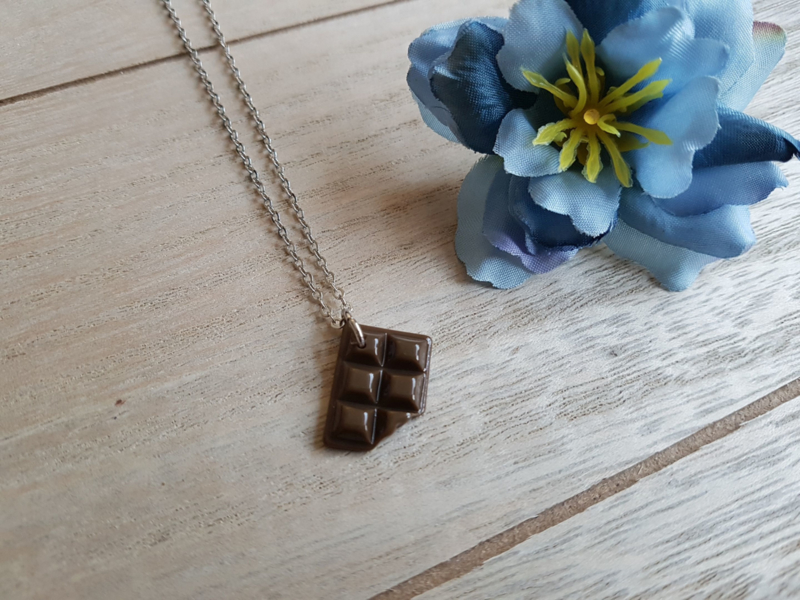 "Chocola Ketting ""Chocolate Queen"""