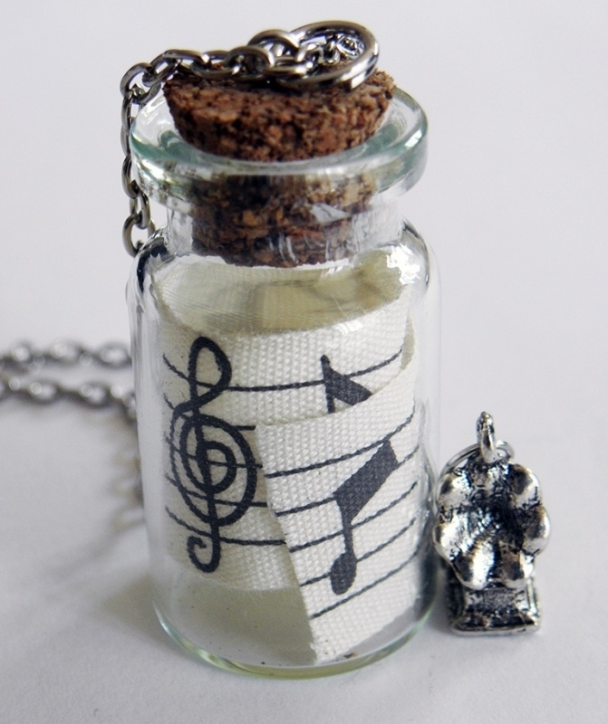 """Ketting """"Music In A Bottle"""""""