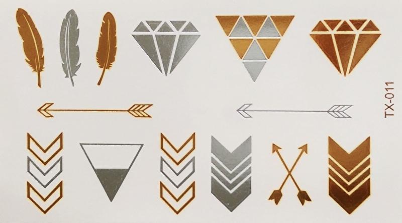 "Flash Tattoo Vel ""Silver & Gold"""