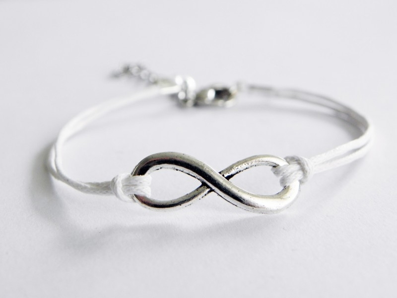 Infinity Armband - Wit