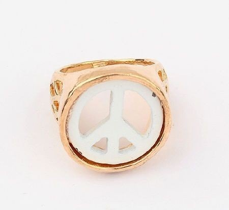 """Ring """"Gold Peace"""""""