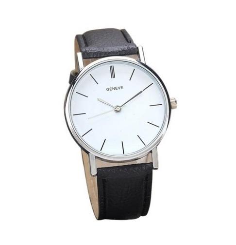 "Horloge ""Minimalist"" Zwart"