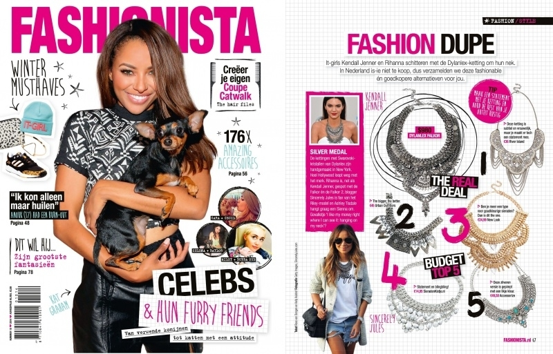 Sieradenkistje.nl In Fashionista Magazine!