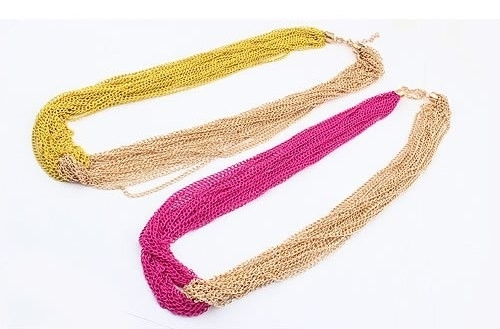 "Ketting ""Dip Dyed Chains"""