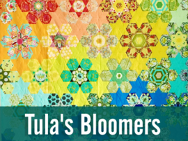 Bloomers - EPP - paper pieces - Tula Pink