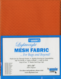 Mesh fabric - Pumpkin - By Annie