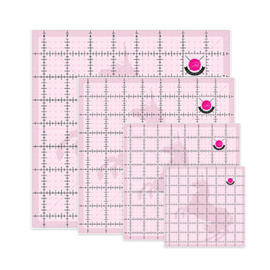 Set Linialen Unicorn - 4 maten - Tula Pink