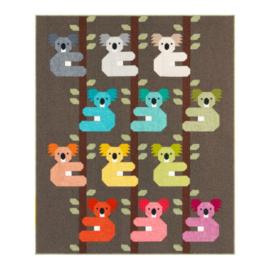 Koalas - pattern - Elizabeth Hartman